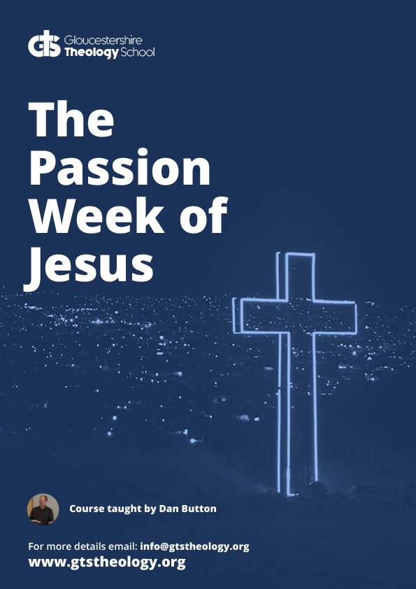 Passion Week of Jesus Poster